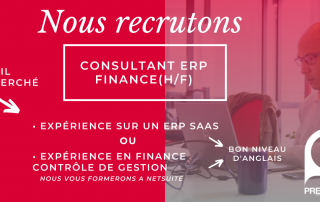 Consultant ERP Finance