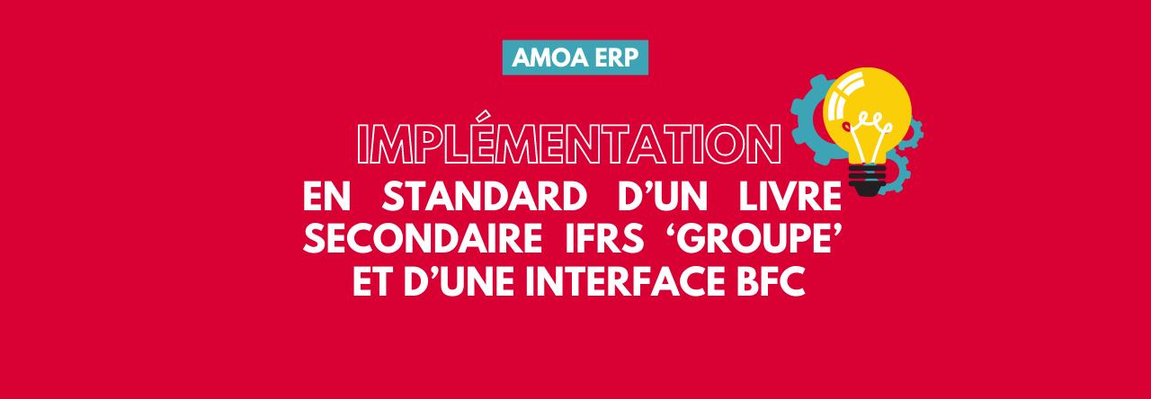 Retour d'expérience | AMOA ERP : implémentation en standard d'une comptabilité en norme IFRS dans un ERP Oracle